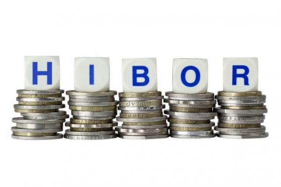 08月03日香港银行间同业拆借利率港币HIBOR